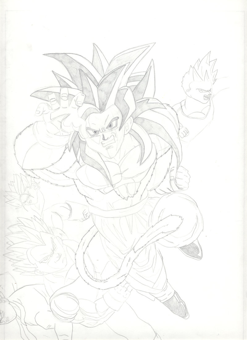 Dragon Ball Website: DragonBall Z GT AF by Vegeth <